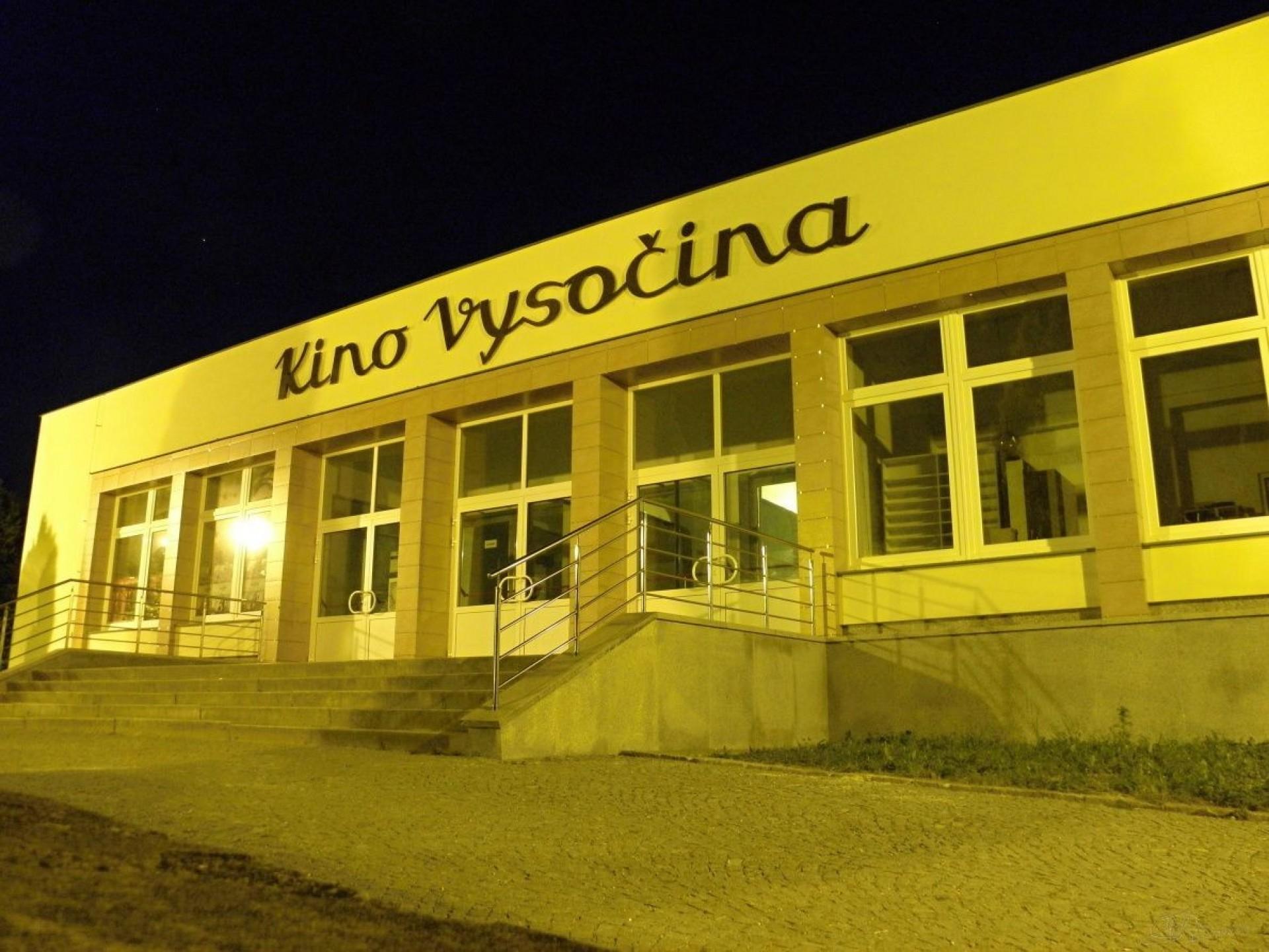 Modernizace interiéru žďárského kina Vysočina