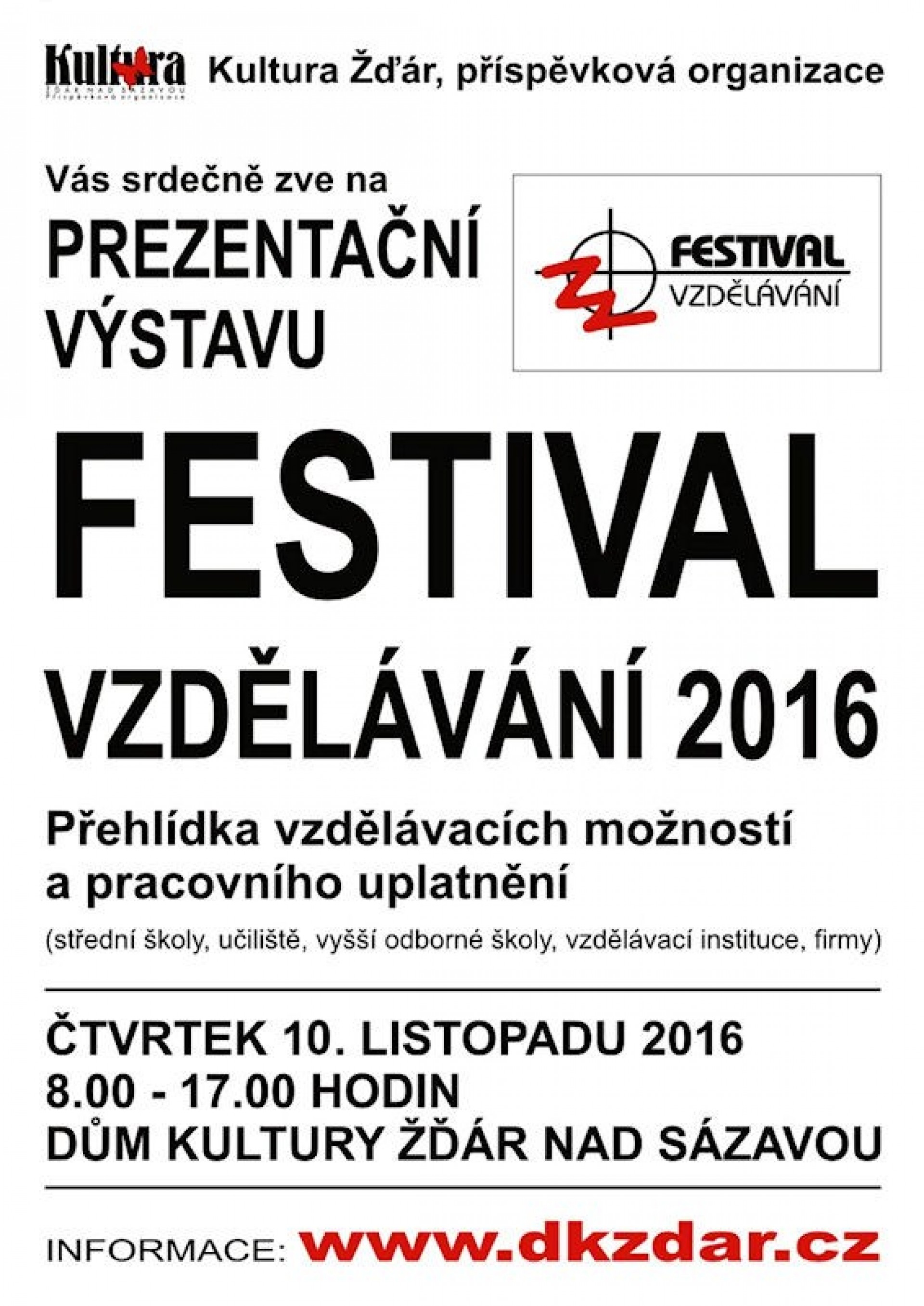 Festival vzdělávání 2016